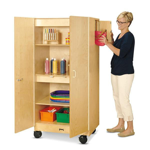 #1565 Jonti-Craft¨ Hideaway Storage Cabinet Ð Mobile