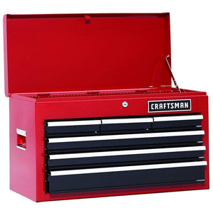 Shop here 26 in 13 drawer heavy duty ball bearing 3 pc combo is perfect for your home garage or small work shop this 3 piece set includes a top chest middle chest and rolling cabinet store small parts hand tools or power tools in these storage boxes