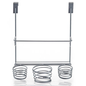Save home intuition hair styling station organizer over the cabinet door silver