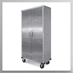 Tall Storage Cabinet - Stainless Steel