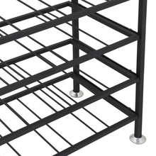Load image into Gallery viewer, Products homgarden 54 bottle free standing deluxe large foldable metal wine rack cellar storage organizer shelves kitchen decor cabinet display stand holder