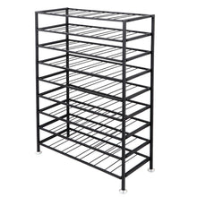 Load image into Gallery viewer, Save homgarden 54 bottle free standing deluxe large foldable metal wine rack cellar storage organizer shelves kitchen decor cabinet display stand holder