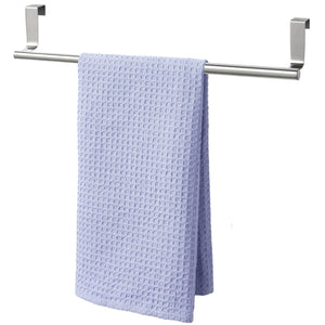 Best seller  youcopia over the cabinet door expandable towel bar stainless steel