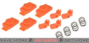 Hexmag Airsoft HexID (4 x Hexgon Latchplates / 4 x Followers) (Color: Orange)