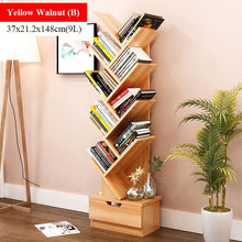 Load image into Gallery viewer, Bookcase Tree Shaped Book Rack Furniture  Display Shelf