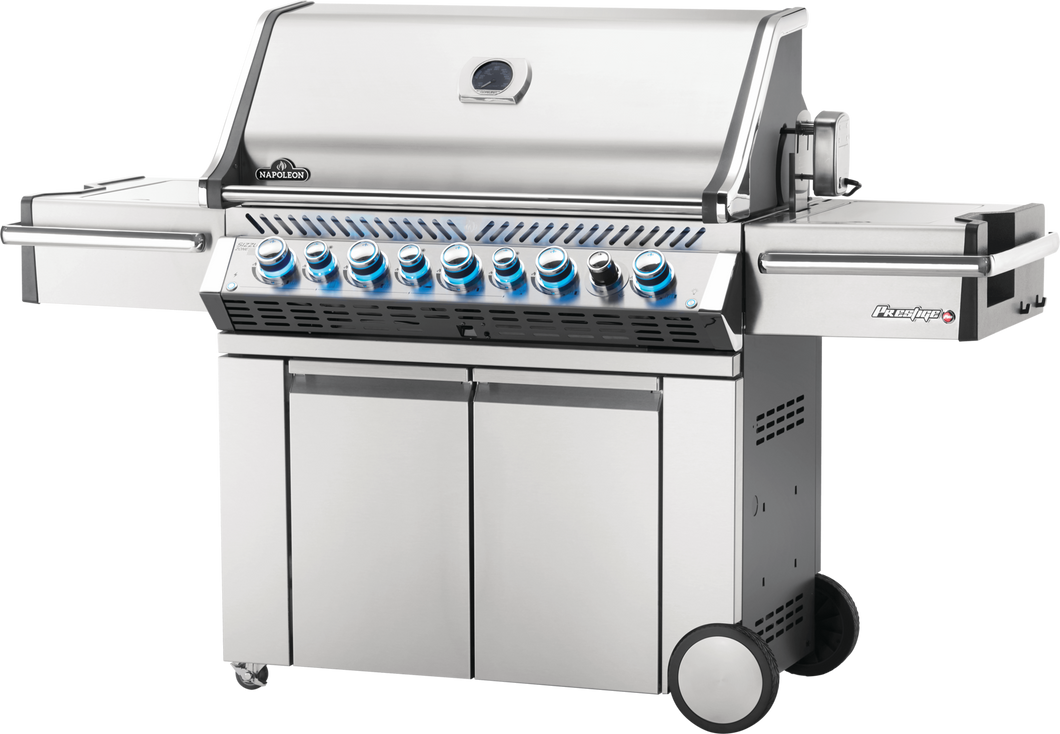 Napoleon Prestige PRO 665 Gas Grill with Infrared Rear & Side Burners PRO665RSIB-2