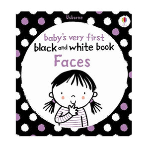 Babys Very First Black and White Book Faces