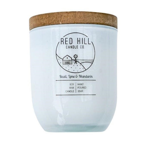 Red Hill Basil, Lime & Mandarin Candle - Fauve + Co