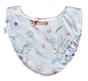 Luna Cottontail Baby Bib