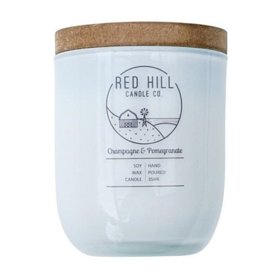 Red Hill Champagne & Pomegranate Candle - Fauve + Co