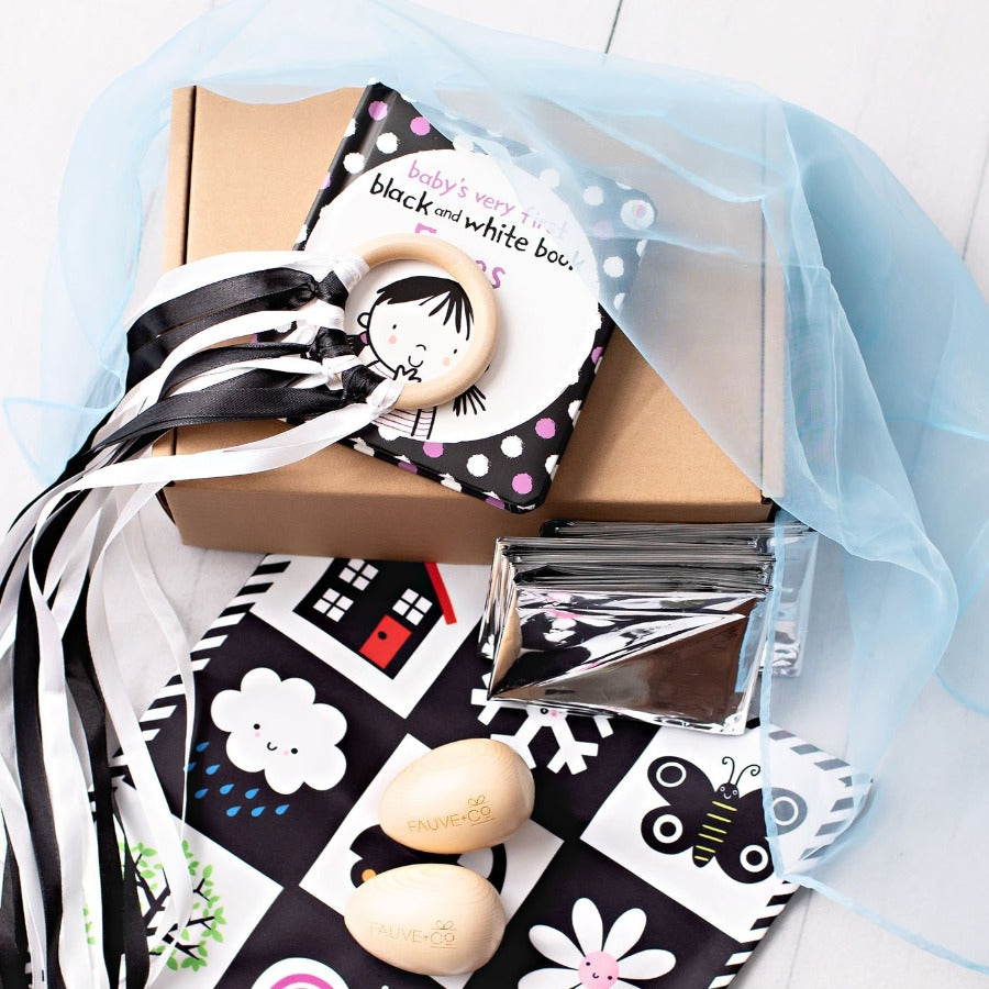 My Sensory Playbox for Baby - Black & White
