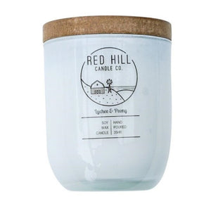 Red Hill Lychee & Peony Candle - Fauve + Co