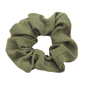 Olive Super Soft Scrunchie