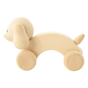 Wooden Push Along Dog - Harley - Fauve + Co