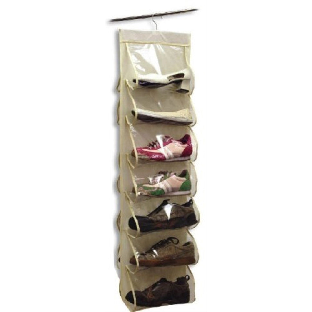 Innovative Home Creations Hanging Shoe Organizer (14 Pocket)