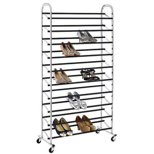 10 Tier Shoe Rack Organizer - 50 Pairs-Daily Steals