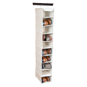 Essential 10 Shelf Shoe Organizer