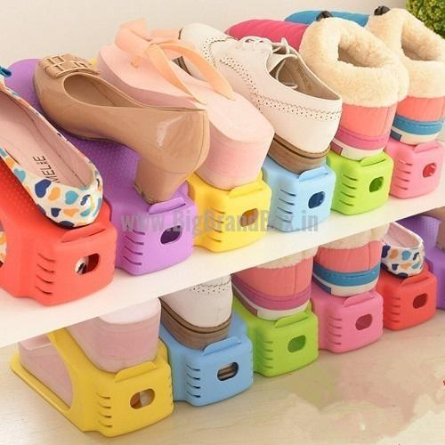 Shoe Organizer Stand ABS Plastic