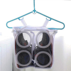 Laundry Shoes Bag Organizer Mesh Bag Dry Shoe Organizer