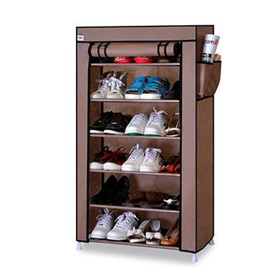 Actionclub 7 Layers 10 Layers Shoes Storage Cabinet DIY Assembly Shoe Shelf Dustproof Moistureproof Large Capacity Shoe Rack