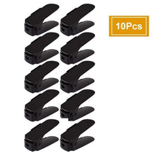 Load image into Gallery viewer, Space Saving Closet Shoe Rack- 10 Pcs