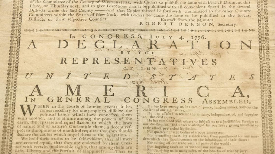 Declaration of Independence through time: Today, it still inspires activists