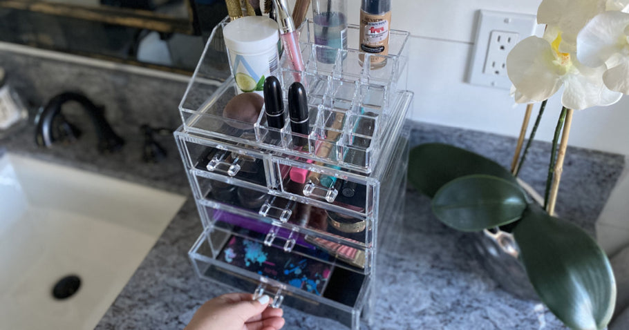 Highly Rated Makeup & Jewelry Storage Case from $18 on QVC.com