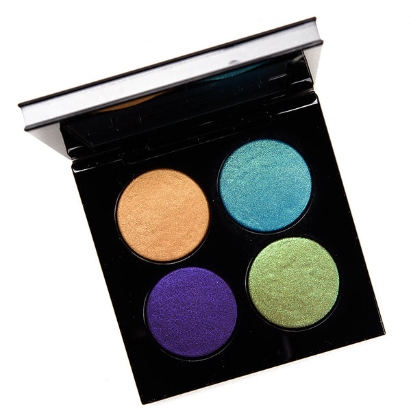Pat McGrath Nocturnal Nirvana Blitz Astral Eyeshadow Quad Review & Swatches