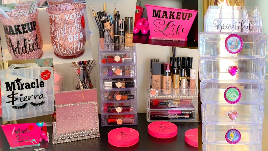 Hey Spicy Crew, Today I will be showing you all how I organized all my make up & ALL with amazing affordable products! I did put my own twist on these ...