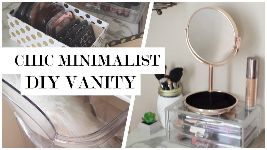 Hi there Simple Life Society! I take you along as I create a chic minimalist makeup vanity