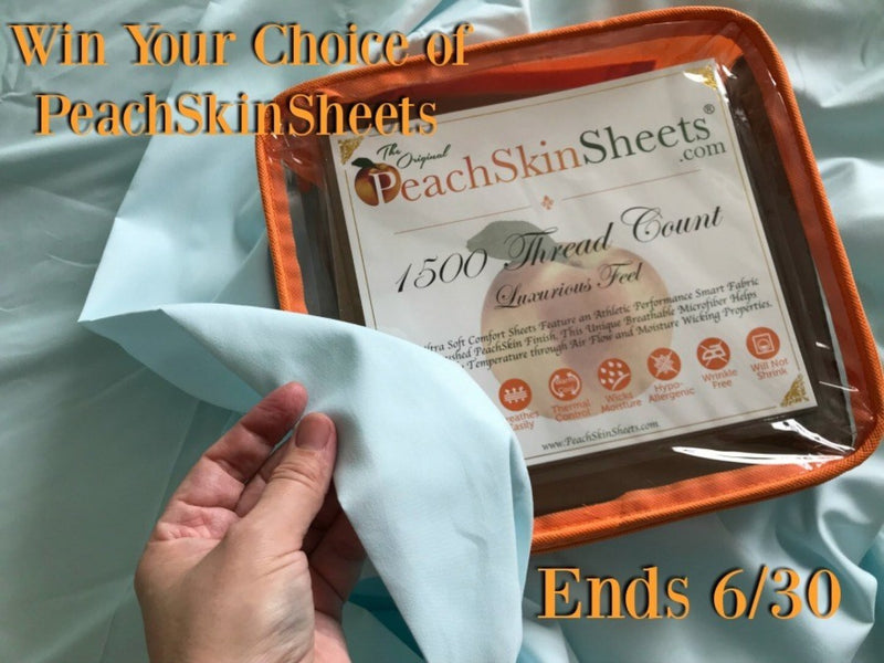 Victory Peach Skin Sheets
