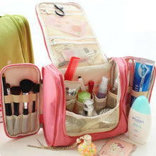 Load image into Gallery viewer, New Travel Toiletry Wash Cosmetic Makeup Case Hanging Organizer Bag