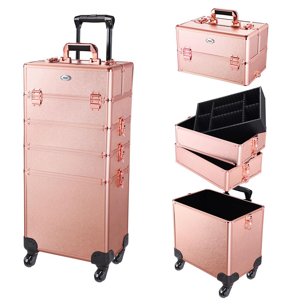 Byootique 4in1 Makeup Case On 4 wheels
