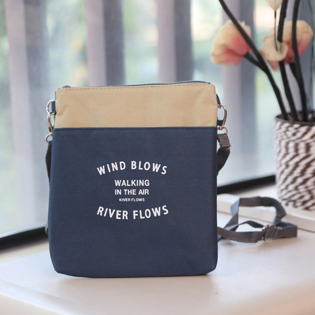 2 Color Women Bags Single-Shoulder Messenger Bag Travel Cosmetics Storage Shoulder Bag With Simple Design Drop Shipping Ho Sale