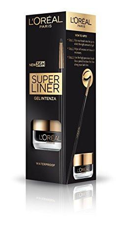 L'Oreal Paris Super Liner Gel Intenza 36H, Profound Black, 2.8g