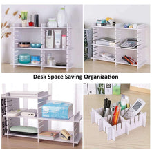 Load image into Gallery viewer, Online shopping e bayker drawer organizer drawer dividers diy arbitrary splicing sub grid household storage spacer finishing shelves for home tidy closet desk makeup socks underwear scarves 5 7x17 7in 5 pack