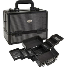Load image into Gallery viewer, Cosmetic Makeup Case w/ Six Pull Out Trays