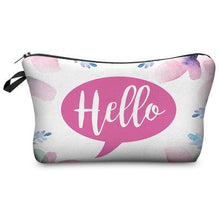 Load image into Gallery viewer, 2017 New Fashion 3D Printing Women Travel Makeup Case Fashion Brand Cosmetic Bags