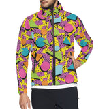 80s Pattern Print Design 1 Unisex Windbreaker Jacket