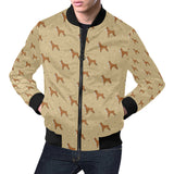 Boxers Pattern Print Design 02 Men Bomber Jacket