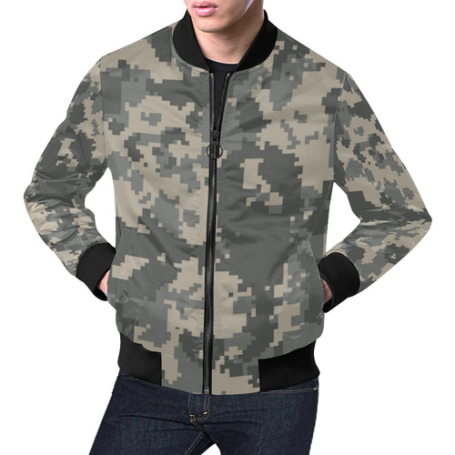 ACU Digital Camouflage Men Bomber Jacket