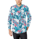 Pucci Pattern Print Design A05 Long Sleeve Dress Shirt