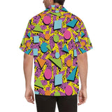 80s Pattern Print Design 1 Hawaiian Shirt-kunshirts.com