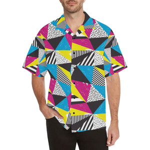 80s Pattern Print Design 2 Hawaiian Shirt-kunshirts.com