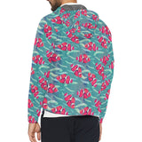 Clownfish Pattern Print Design 02 Unisex Windbreaker Jacket