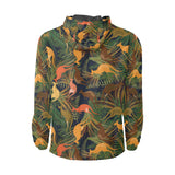 Kangaroos Pattern Print Design 07 Unisex Windbreaker Jacket