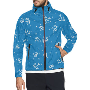 Libra Pattern Print Design 05 Unisex Windbreaker Jacket