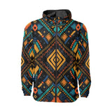 Kente Pattern Print Design 05 Unisex Windbreaker Jacket