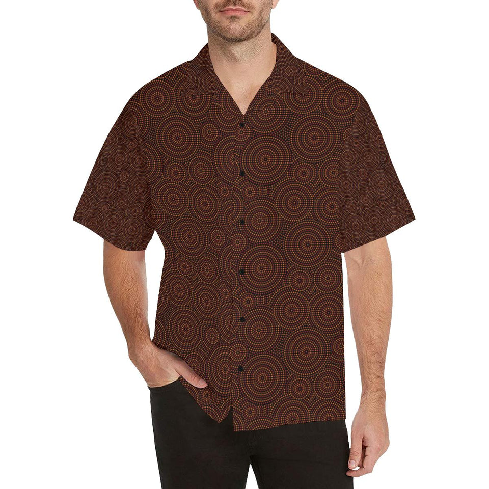 Aboriginal Pattern Print Design 02 Hawaiian Shirt-kunshirts.com
