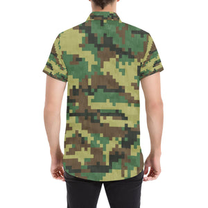 ACU Army Digital Pattern Print Design 02 Men's All Over Print Shirt (Model T53)-kunshirts.com